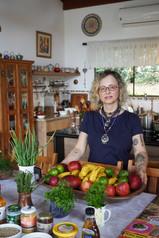 Rô mostrando todos os alimentos pro módulo de culinária