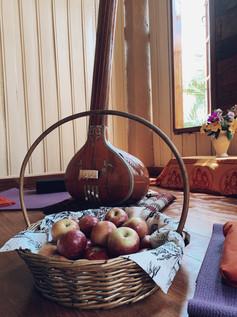 Frutas para o puja