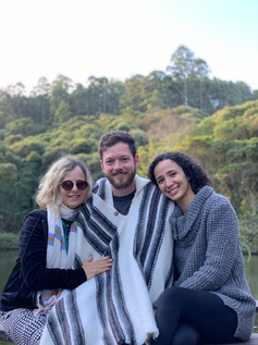 Rosana, Rapha e Nina (equipe do curso)