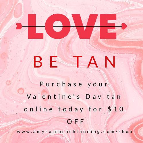 Valentines Day Tan