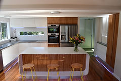 Rounded Island Kitchen Design