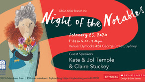 Night of the CBCA Notables 2020