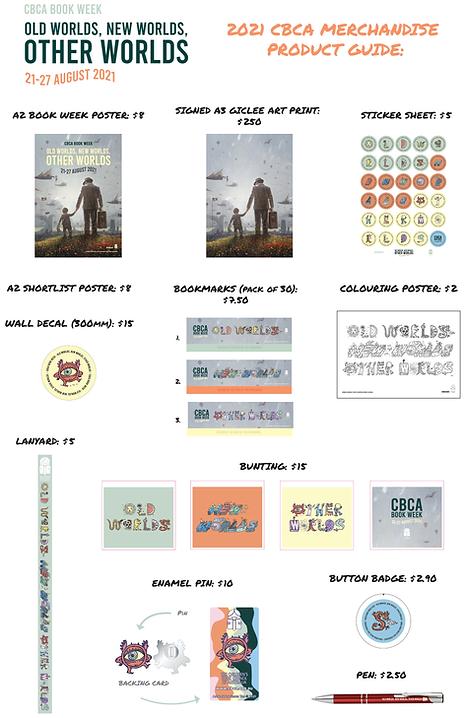 CBCA Book Week 2021 - UPDATED Product Gu