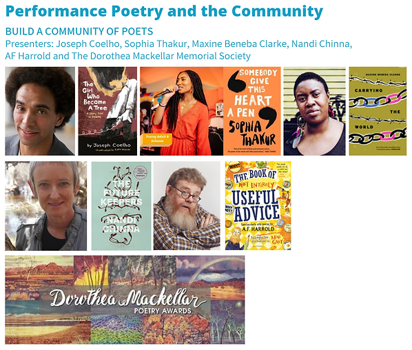 2021 AAA - 5 - Poetry and the community.