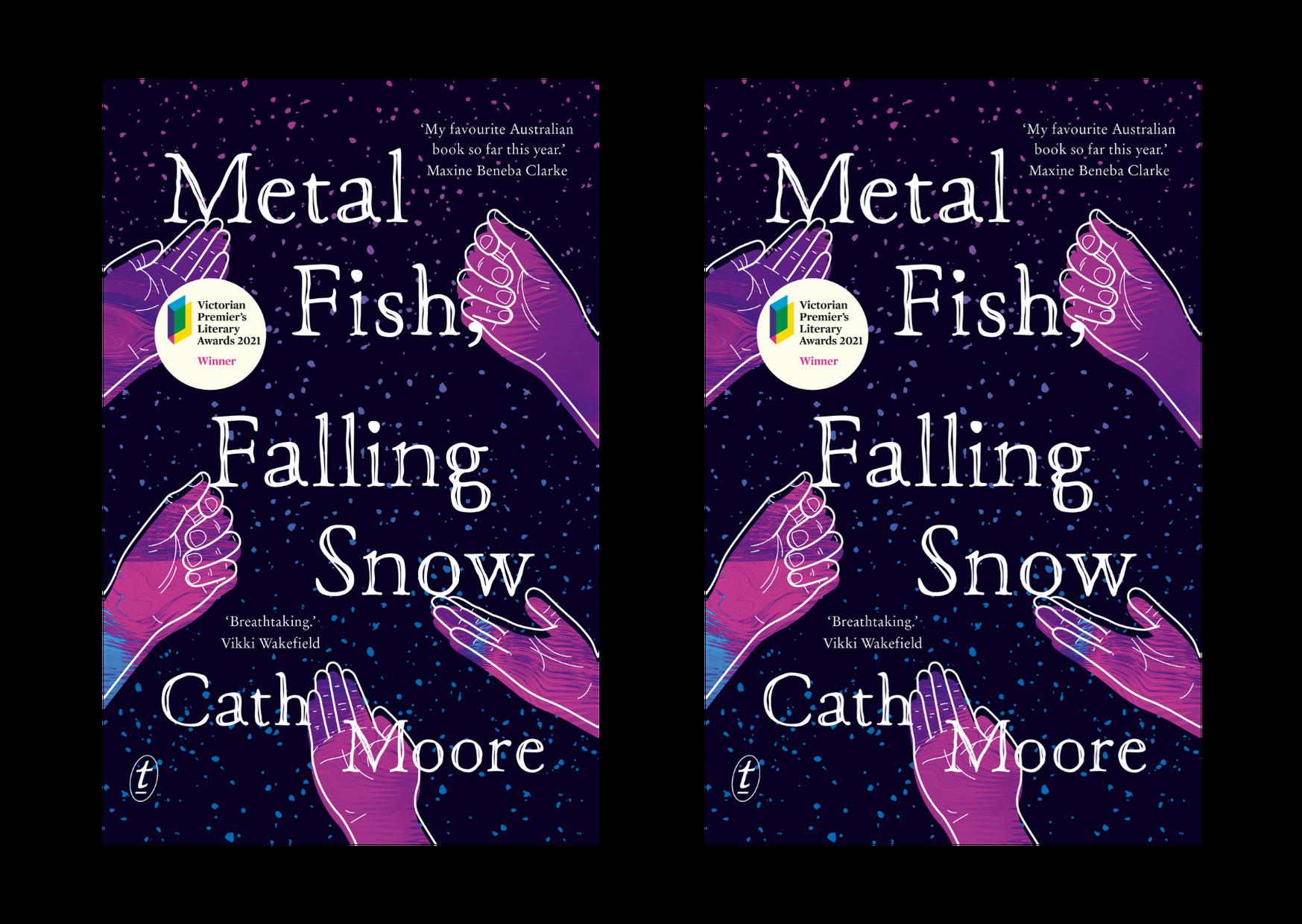 Text - Metal Fish, Falling Snow