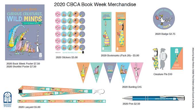 2020 CBCA Book Week Merchandise Guide -