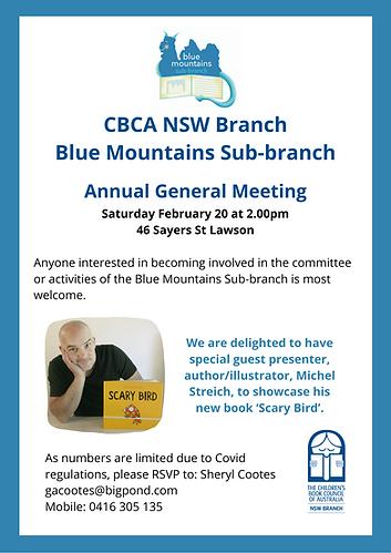 2021 CBCA NSW Branch Blue Mountains Sub-