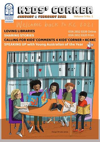 2021 - 2 - Kids Corner February Cover Fi