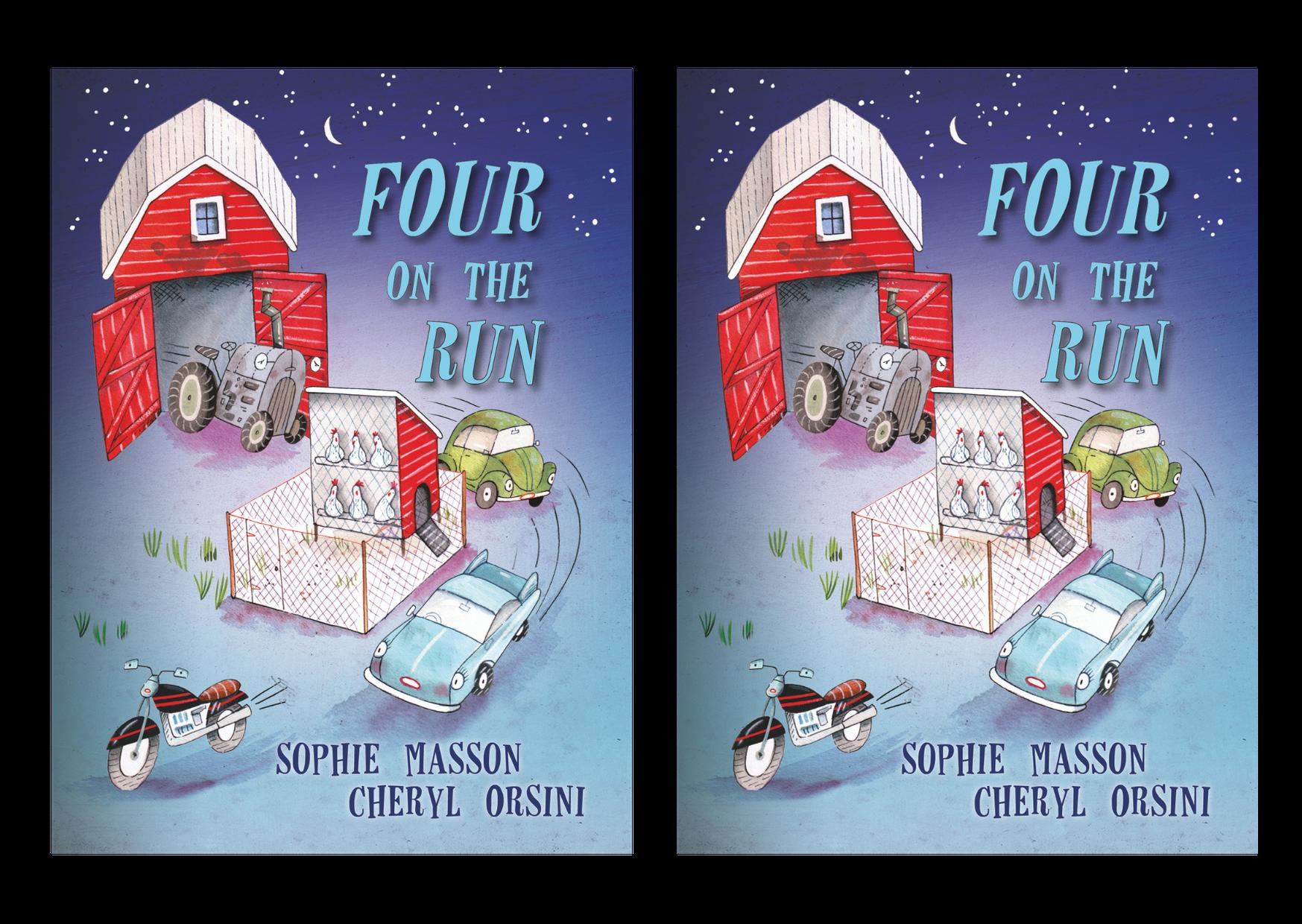 Christmas Press - Four on the Run