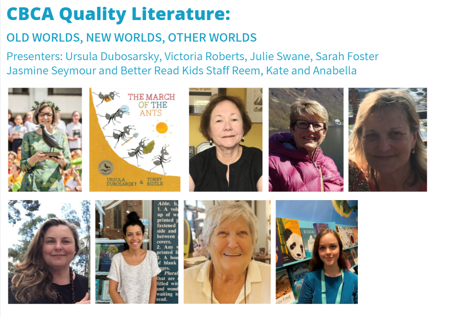 AAA PD Confernce CBCA Quality Literature Presenters