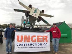 Unger Construction float-Roseville