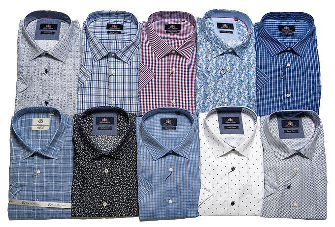 Herreskjorter korte ærmer