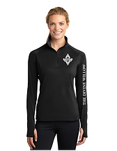 Black Women's pull over Front The Divine