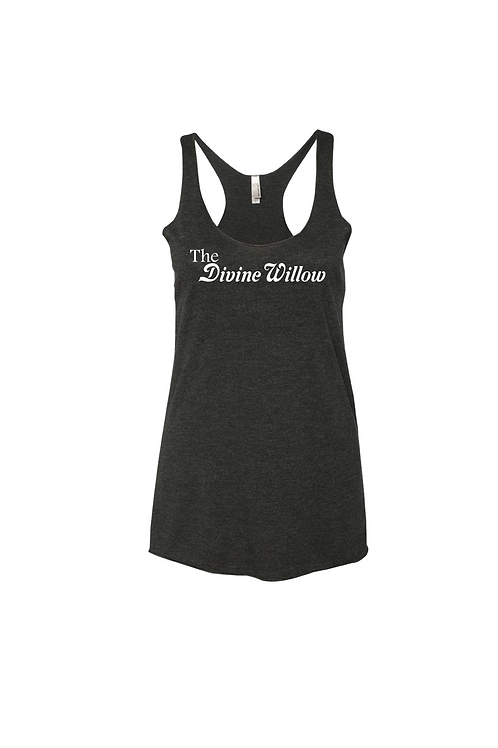 Next Level - Women's Triblend Racerback Tank - The Divine Willow