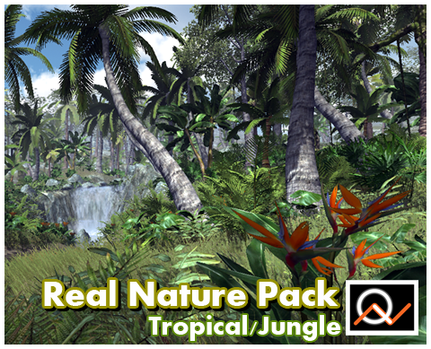 Real Nature Pack - Tropical  $35.00