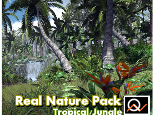 Real Nature Pack - Tropical / Jungle