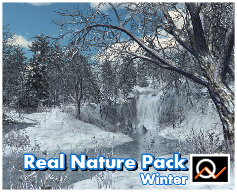 Real Nature Pack - Winter  $30.00