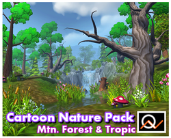 Cartoon Nature Pack 1 - $35.00
