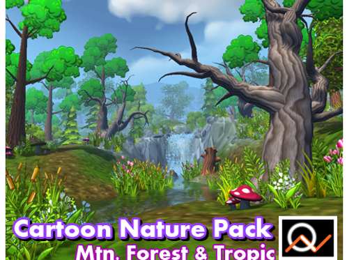 Real Nature Pack - Cartoon