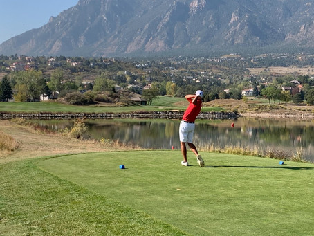 Senior Rick Lane Qualifies for State Golf Tournament for Third Time