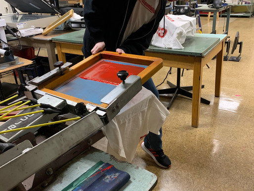 Straight Off the Press: New T-Shirt Press at Centennial
