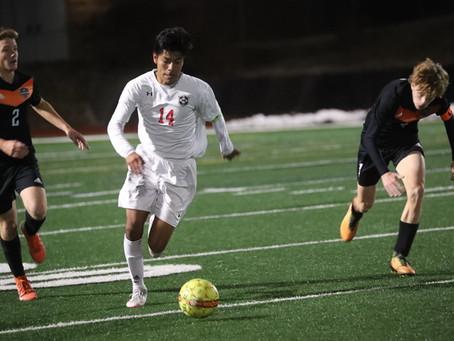 Centennial Boys Soccer Dominates First Round Playoffs