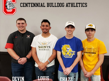 Devin Blue, Louis Martinez, Joey Solano, Chazz Vigil sign to play at the next level