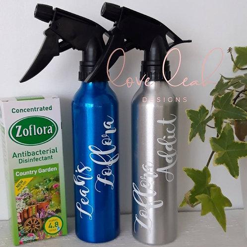 Personalised Zoflora Spray Bottle