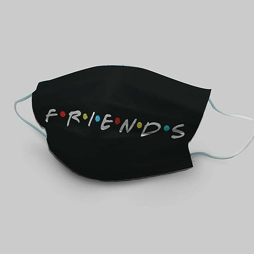 Face Mask - Personalised Friends Style
