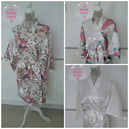 The Non Personalised Robes - Short Style