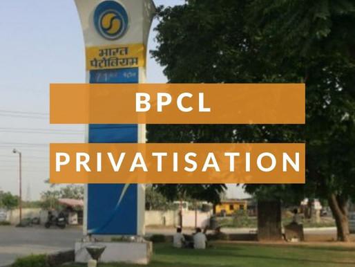 BPCL DISINVESTMENT