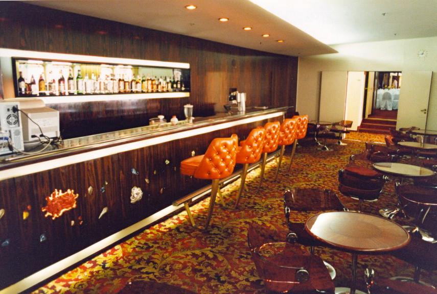 PHILIPPINES Bar, facing aft