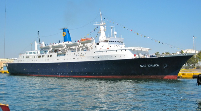MV BLUE MONARCH