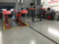 Mechanic shop floor coating Calgary, Alberta