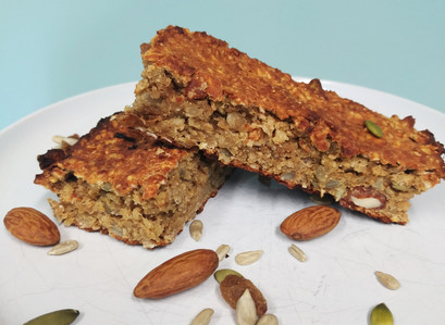 Granola peanut butter bars