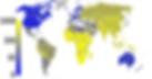 Παγκόσμιος χάρτης κατανομής της Φυματίωσης