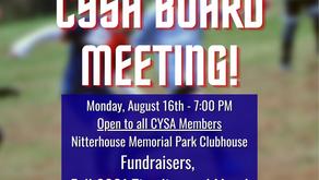 August Board Meeting!