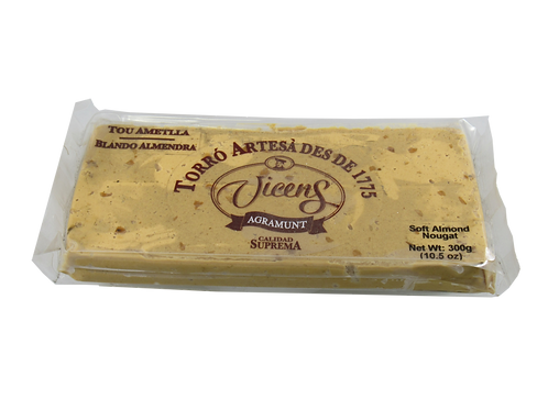 Vicens Soft Almond Nougat