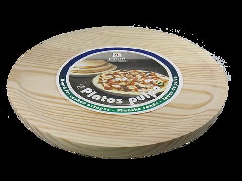 Medium Wood Plate