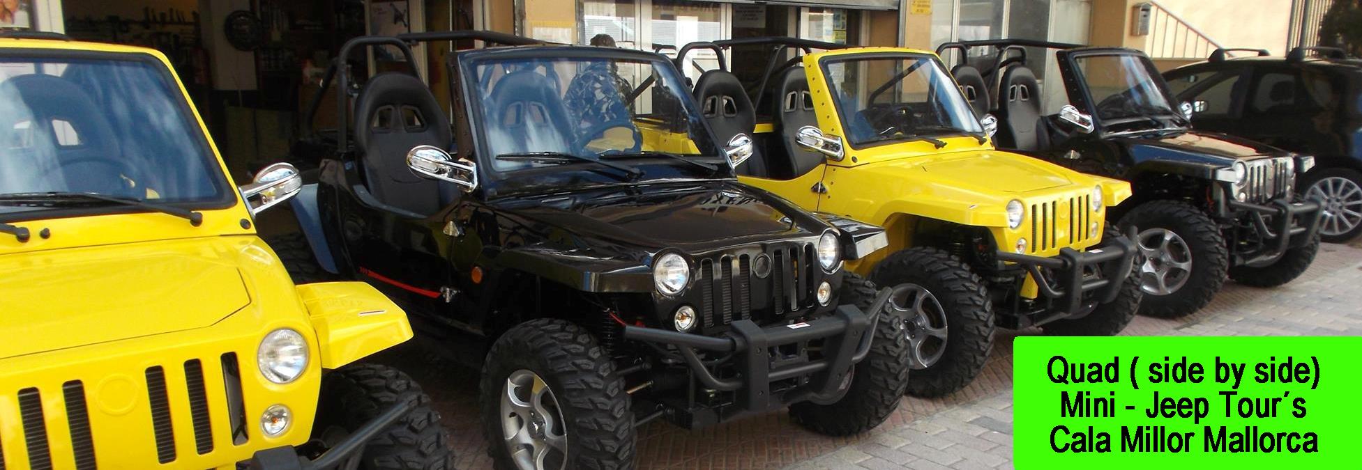 Quad Mini Jeep Tours Mallorca Cala Millor Top Tip
