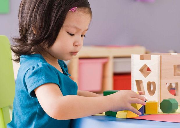 Kindergarten spielen