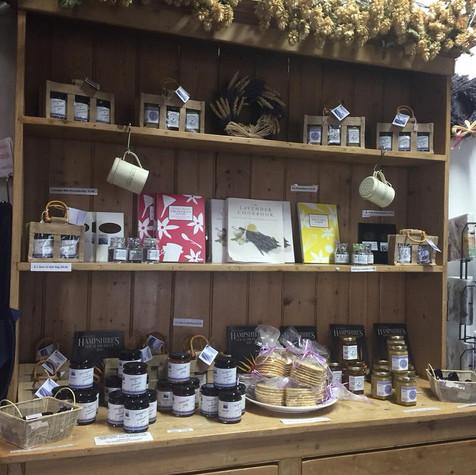 Lavender Gift Shop, Lavender Fields, Selborne, Hampshire 2018