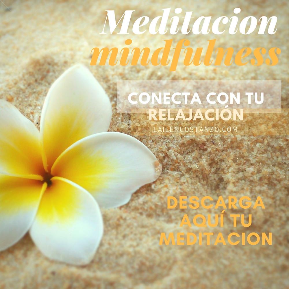 Meditación Mindfulness sencilla lailencostanzo.