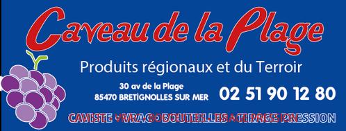 Panneau CAVEAU DE LA PLAGE Basket Les Mo