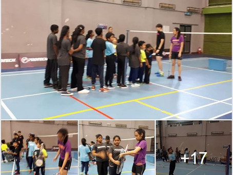 Live to Enjoy Badminton Clinic 2018