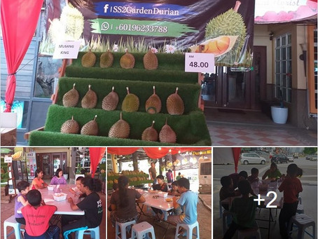 Thank you to SS2 Garden Durian Fest!