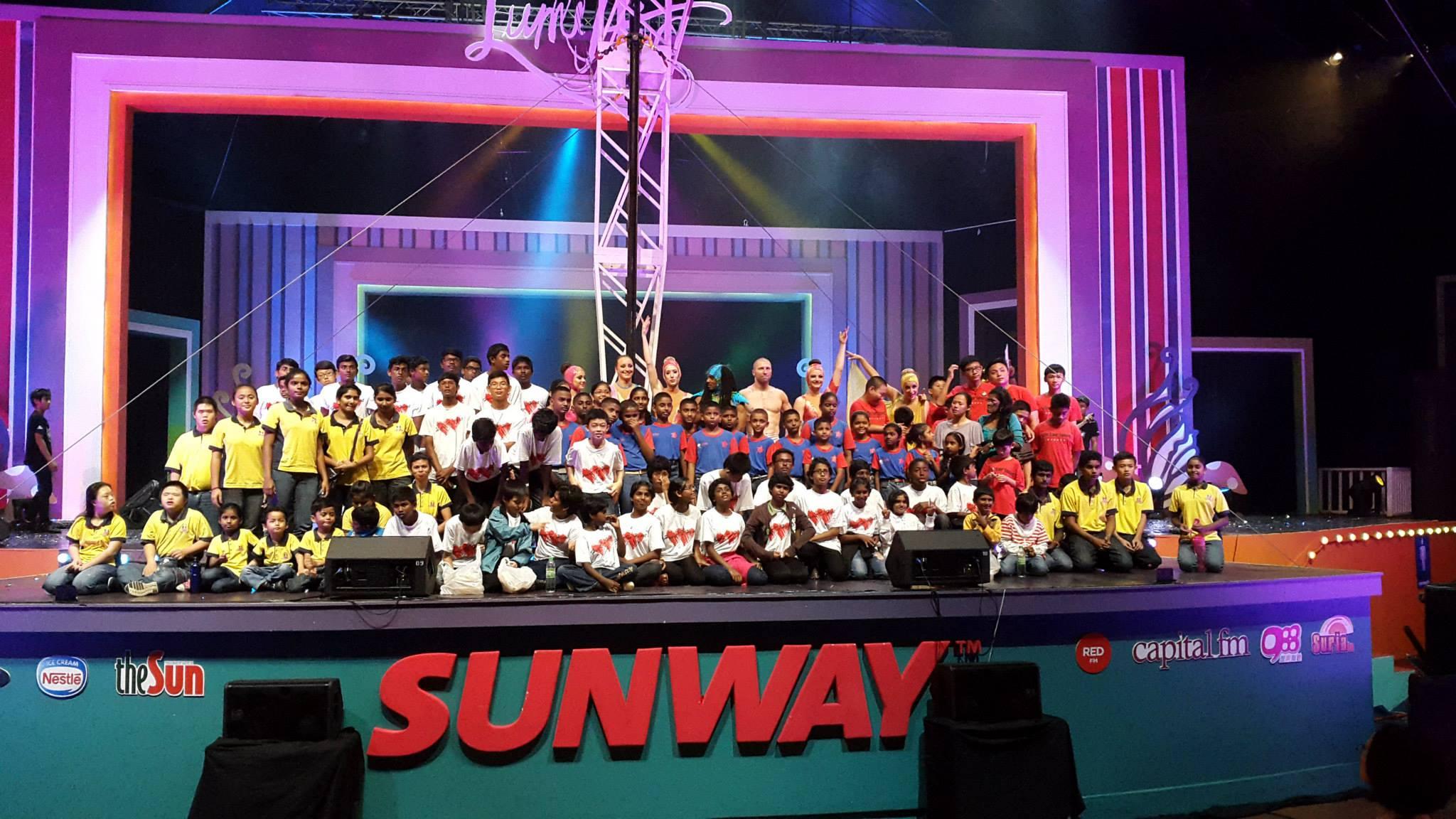 Live Show at Sunway Lagoon