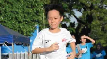10-year-old Boy's Running Campaign Has Donated RM4786.00 for Charity