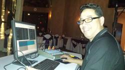 Arron the DJ at Eaglequest