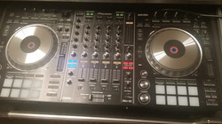 Our Pioneer Serato mixing board